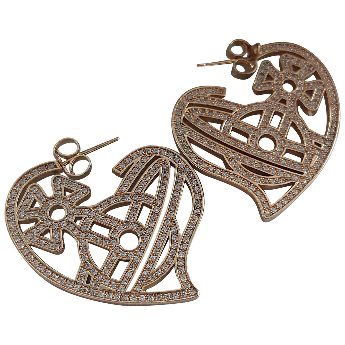 Vivienne Westwood \N OhrRing in  Gold Metall