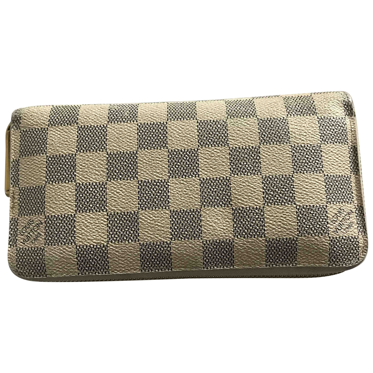 Louis Vuitton Zippy Beige Cloth wallet for Women \N