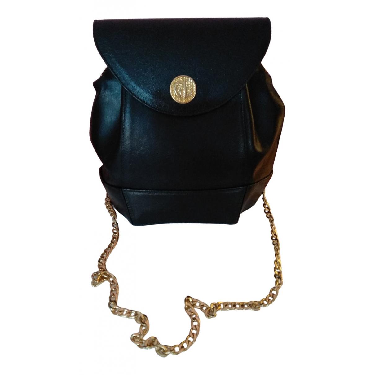 Guy Laroche \N Handtasche in  Schwarz Leder