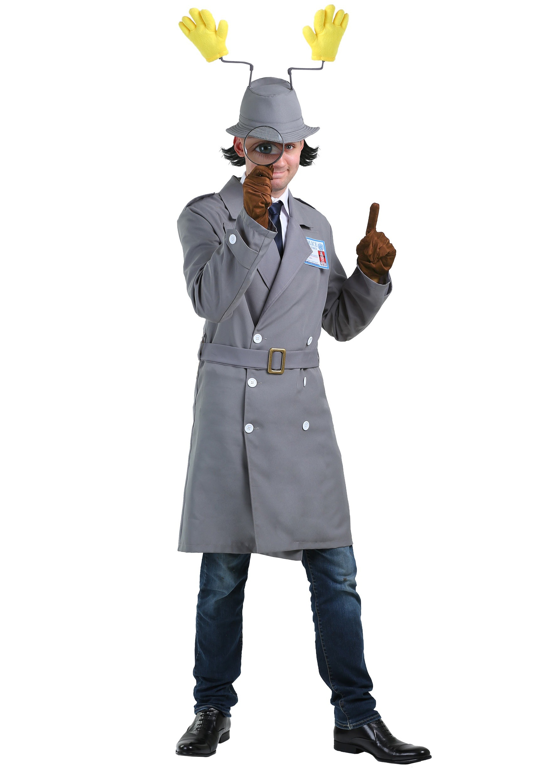 Plus Size Inspector Gadget Adult Costume