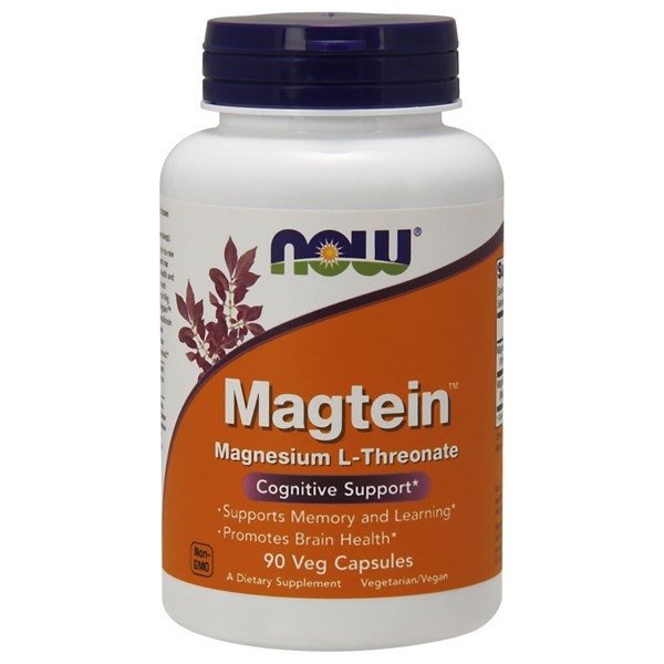 Magtein 90 Vcaps by Now Foods
