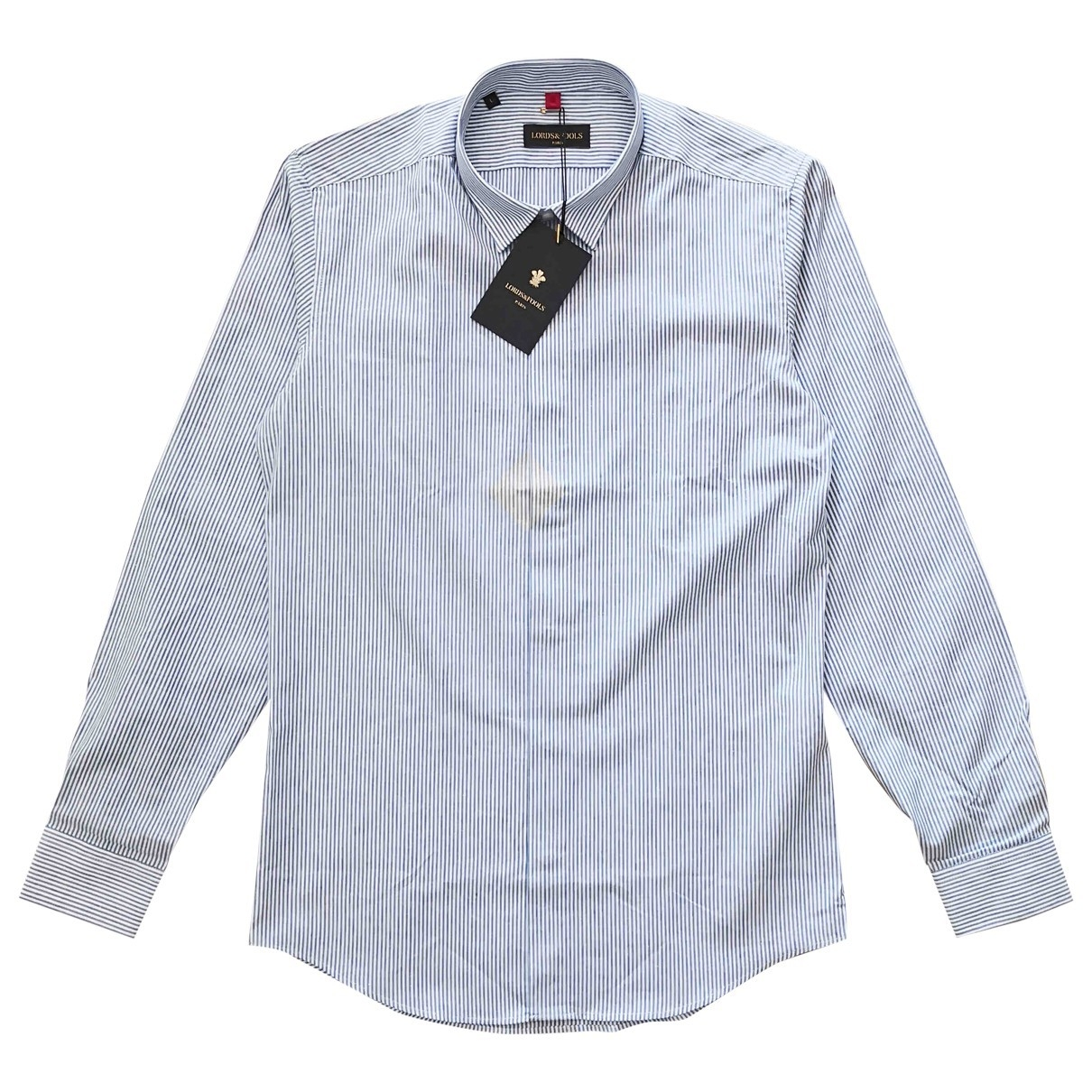 Lords & Fools \N Blue Cotton Shirts for Men L International