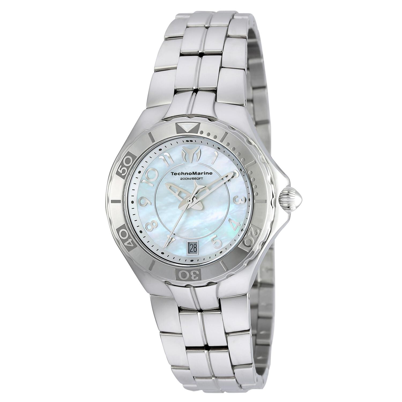 Technomarine Women's Sea Pearl TM-715012 Silver Stainless-Steel Quartz Fashion Watch