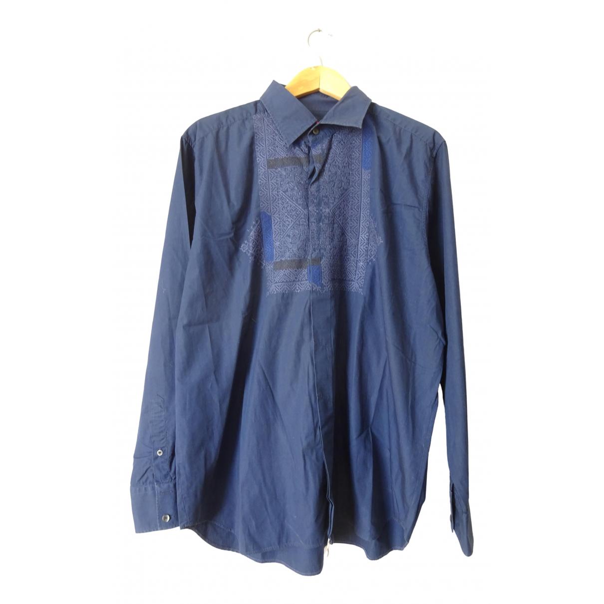 Christian Lacroix - Chemises   pour homme en coton - marine
