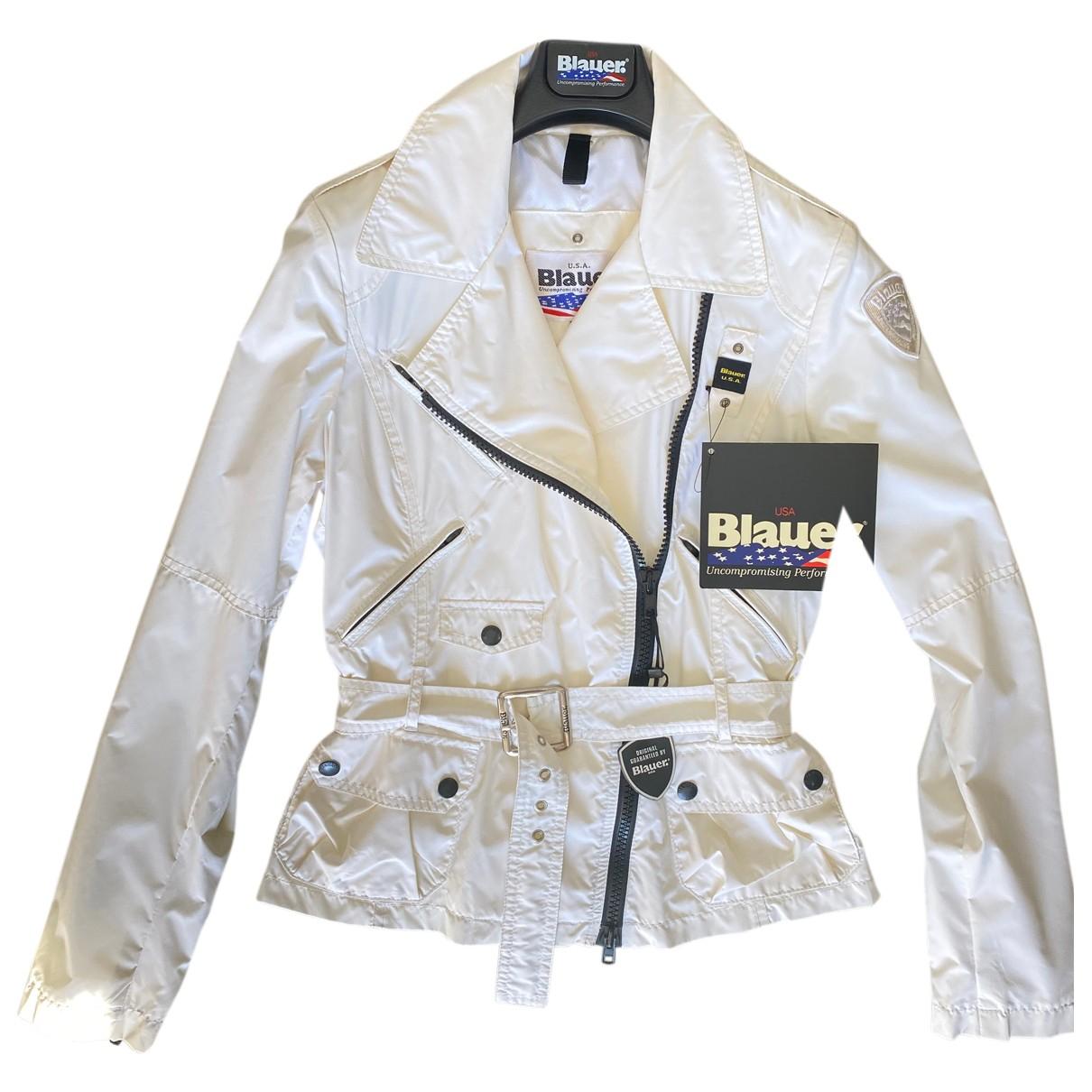 Blauer - Veste   pour femme - blanc