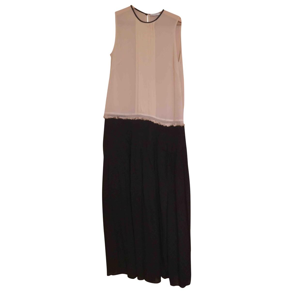 Sandro \N Kleid in  Beige Polyester