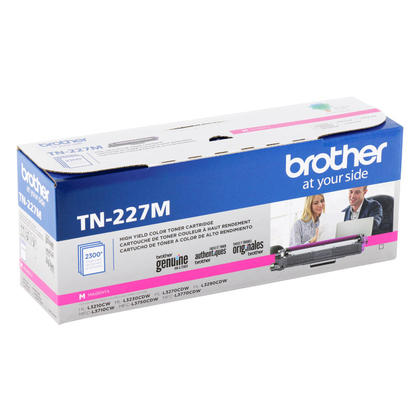 Brother TN227M Original Magenta Toner Cartridge High Yield