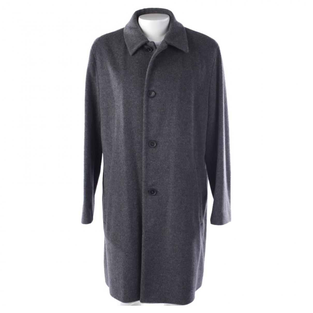 Hugo Boss \N Jacke in  Grau Wolle