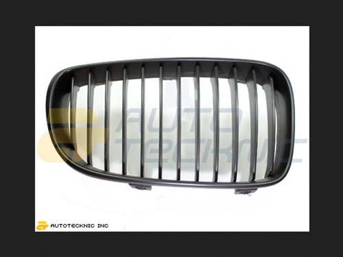 AutoTecknic Replacement ABS Matte Black Front Grilles BMW E82 Coupe | E88 Cabrio | 1 Series 08-13