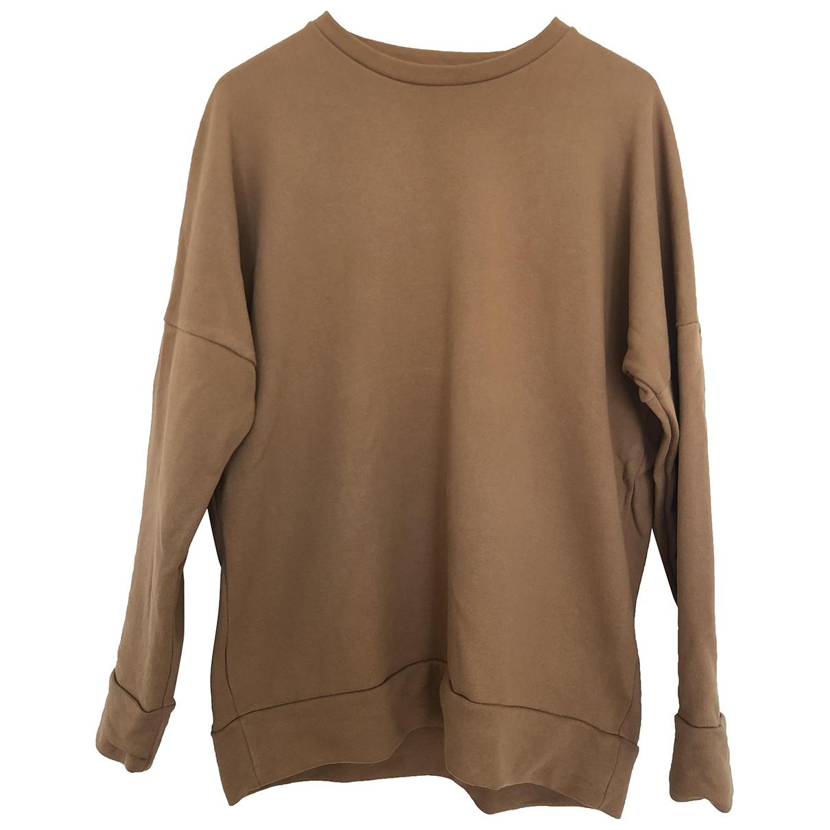 Cos \N Pullover.Westen.Sweatshirts  in  Braun Baumwolle