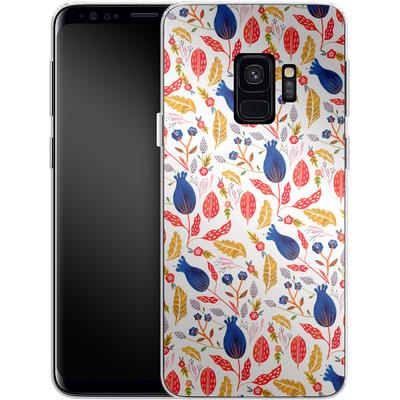 Samsung Galaxy S9 Silikon Handyhuelle - Seasons Change von Iisa Monttinen