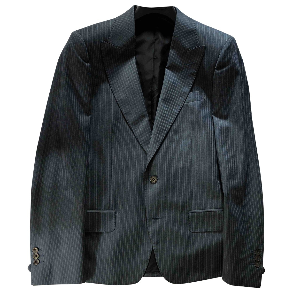 Saint Laurent - Costumes   pour homme en laine - bleu