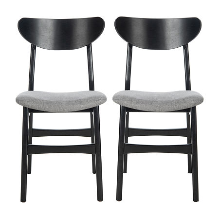 Safavieh Lucca Dining 2-pc. Side Chair, One Size , Black