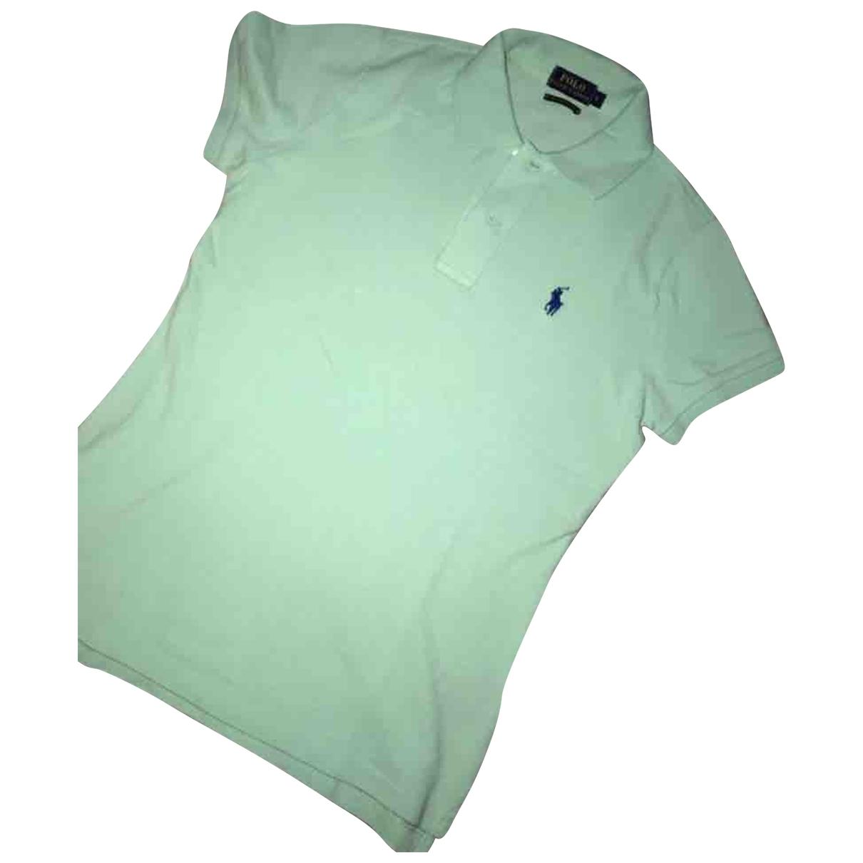 Polo Ralph Lauren - Top   pour femme en coton - vert