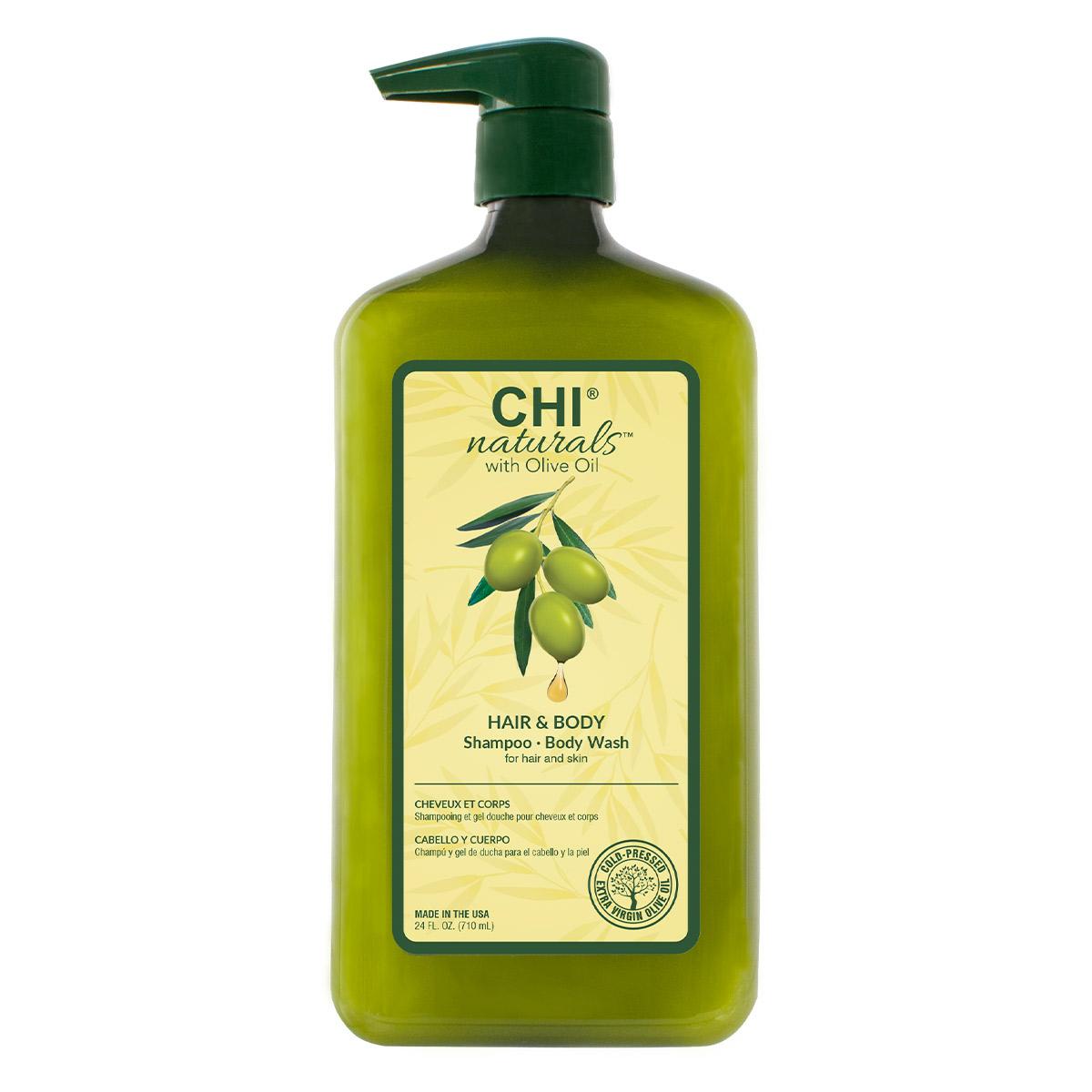 Olive Organics Hair & Body Shampoo