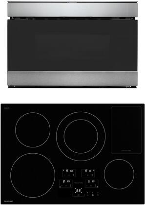 2 Piece Kitchen Appliances Package with SDH3042DB 30