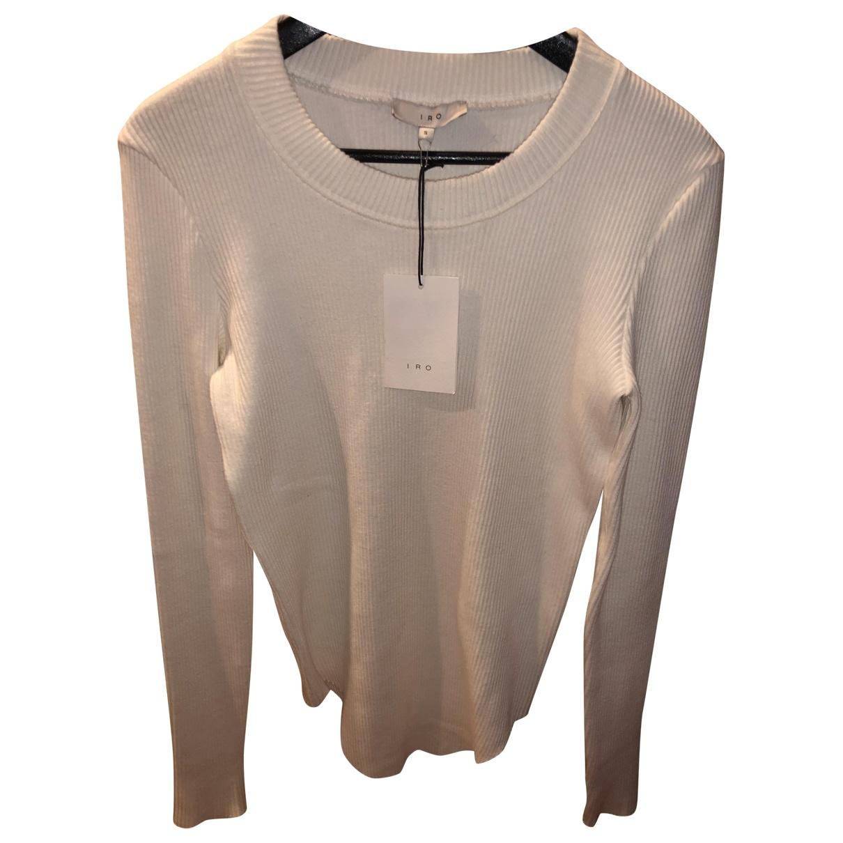 Iro - Pull   pour femme en laine - ecru