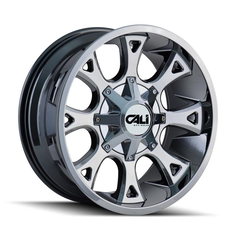 Cali Off-Road 9103-22237C Anarchy 9103 Chrome 22x12 6x135 | 6x139.7 -44mm 108mm Wheel