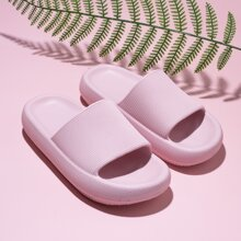 Textured Open Toe Slippers