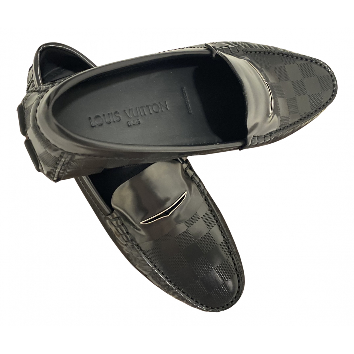 Louis Vuitton \N Espadrilles in  Schwarz Leder