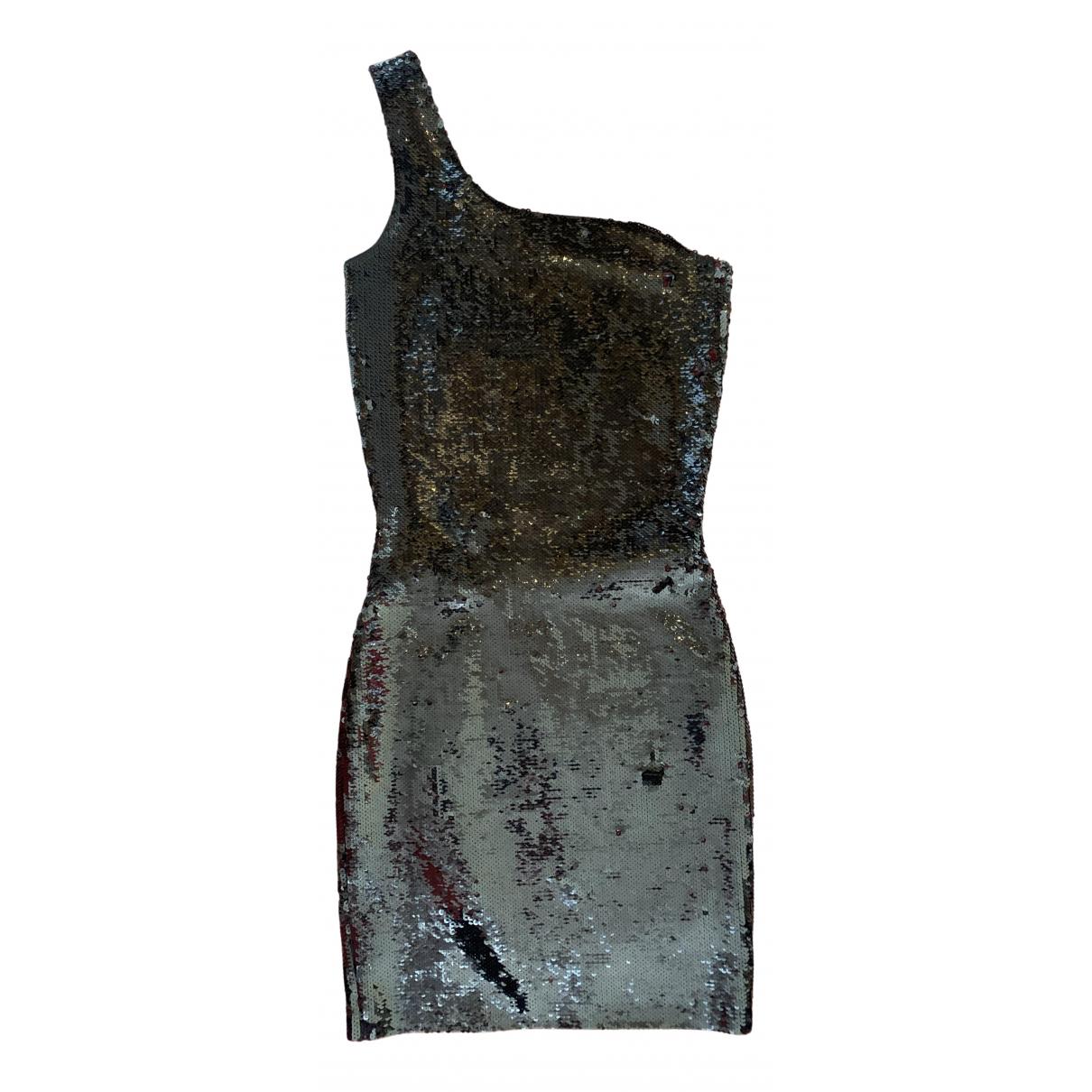Mini vestido de Con lentejuelas Saint Laurent