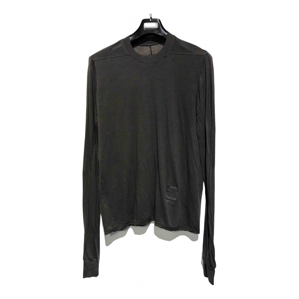 Rick Owens Drkshdw \N Grey Cotton T-shirts for Men L International