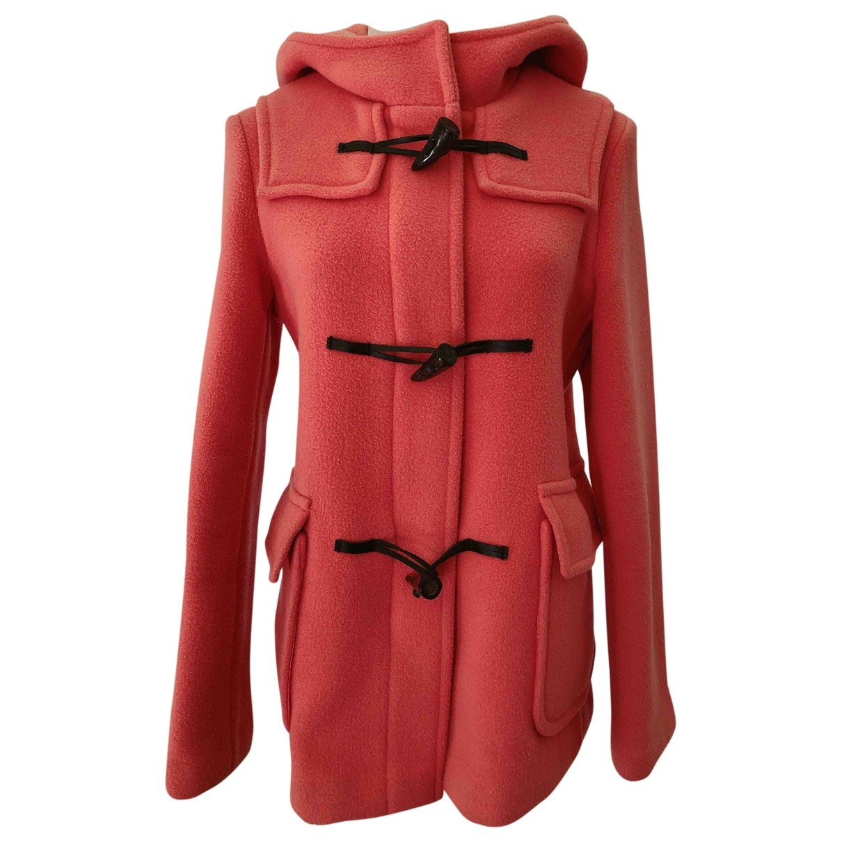 Burberry \N Maentel in  Rosa Wolle