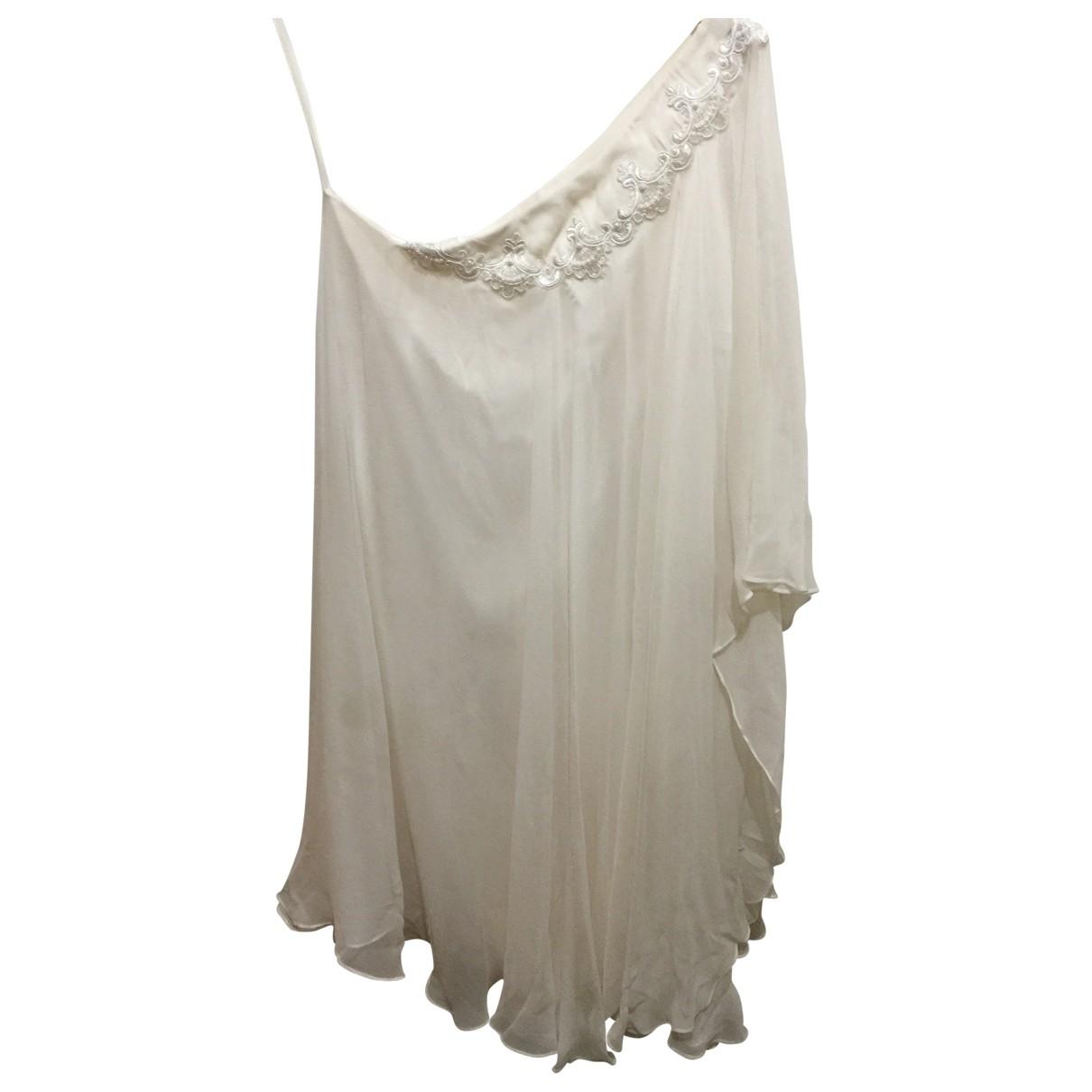 Vestido midi de Seda Marchesa Notte