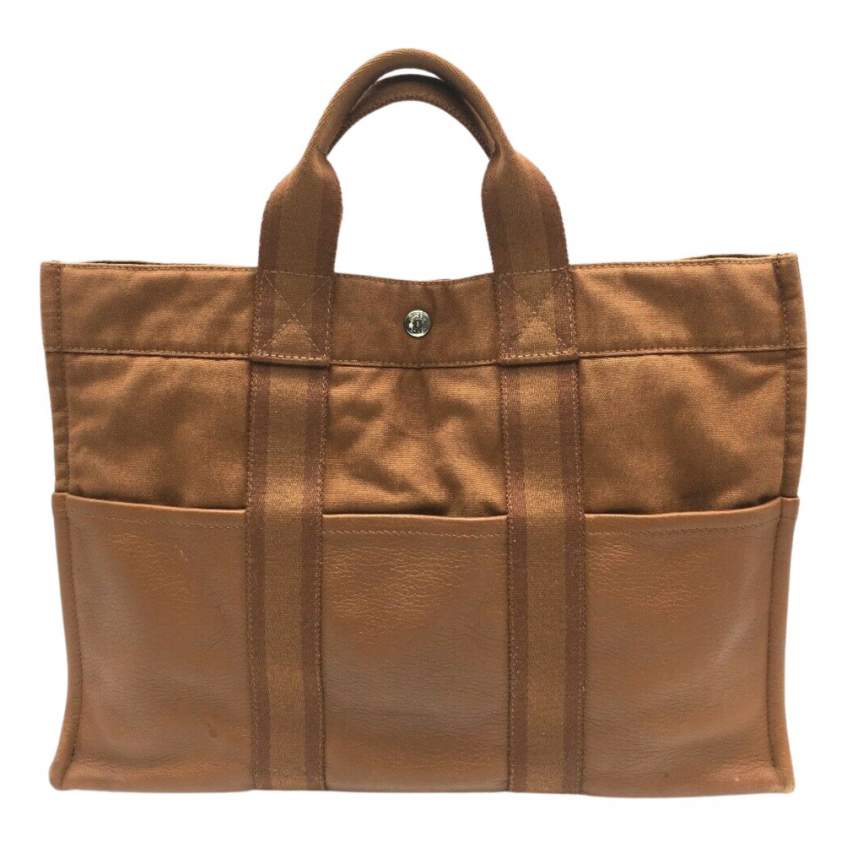 Hermès Toto Brown Cloth handbag for Women N