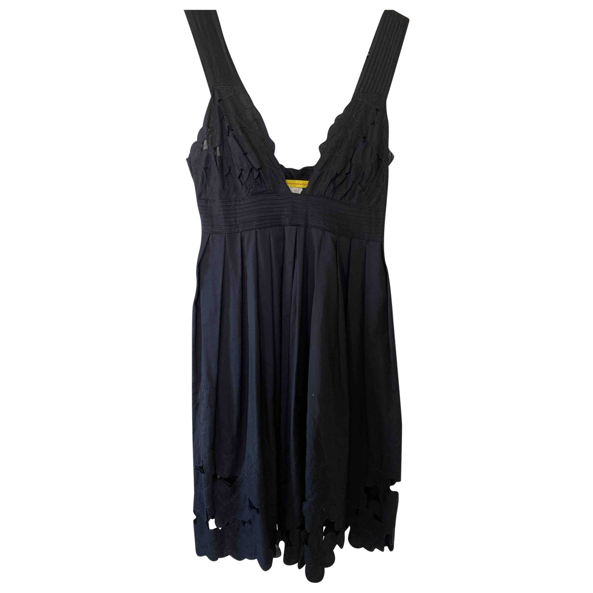 Catherine Malandrino N Black Cotton dress for Women 10 UK