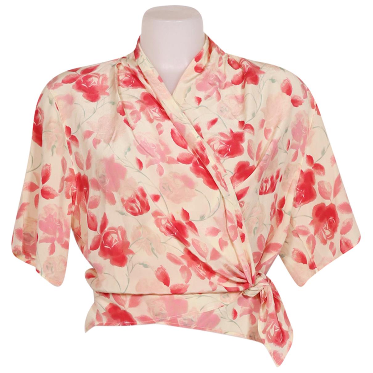 Max Mara N Beige Silk  top for Women 42 IT