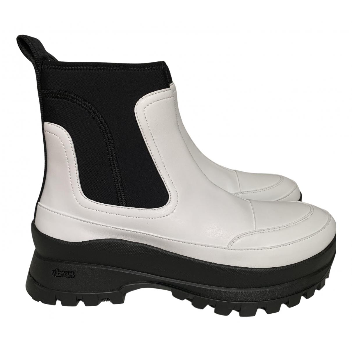 Stella Mccartney N White Ankle boots for Women 38 EU