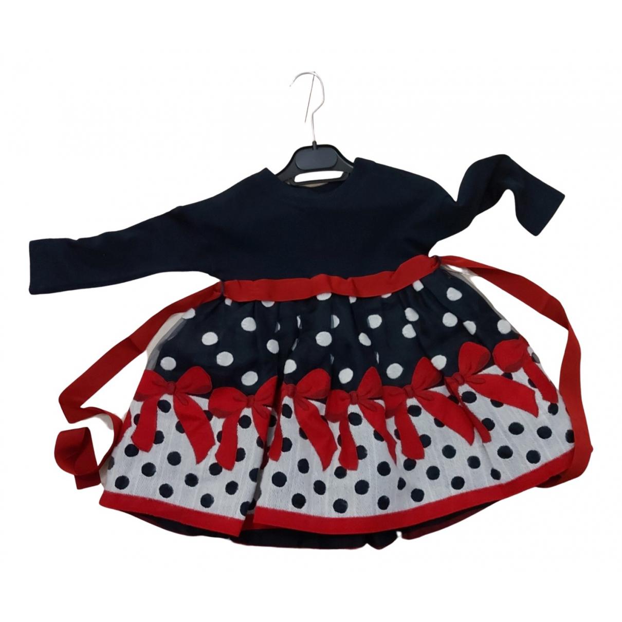 Monnalisa \N Kleid in  Blau Viskose