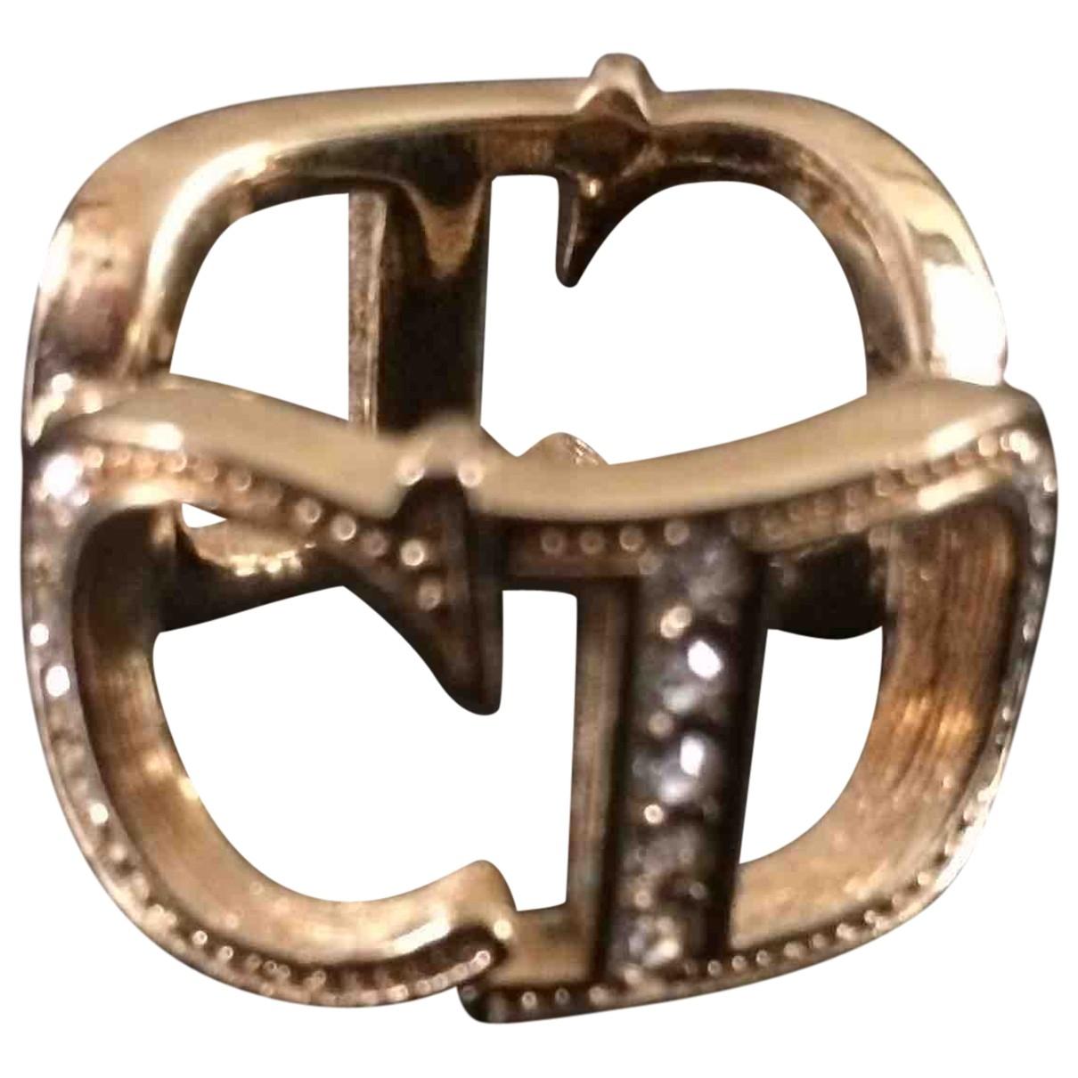 Broche Dorado Dior