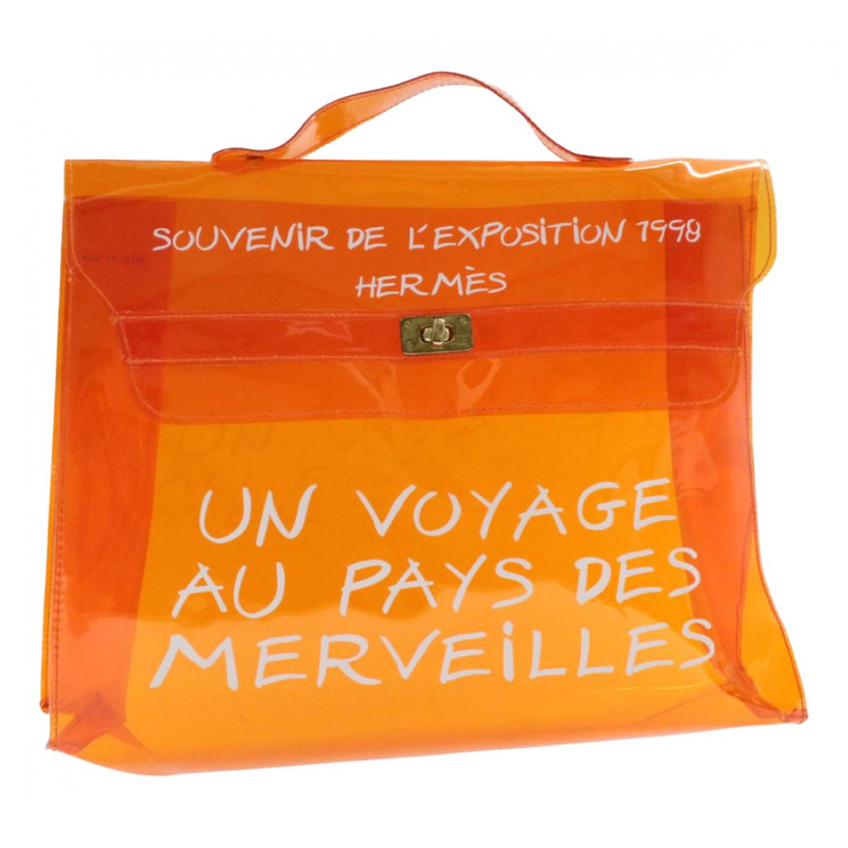 Hermès \N Orange handbag for Women \N