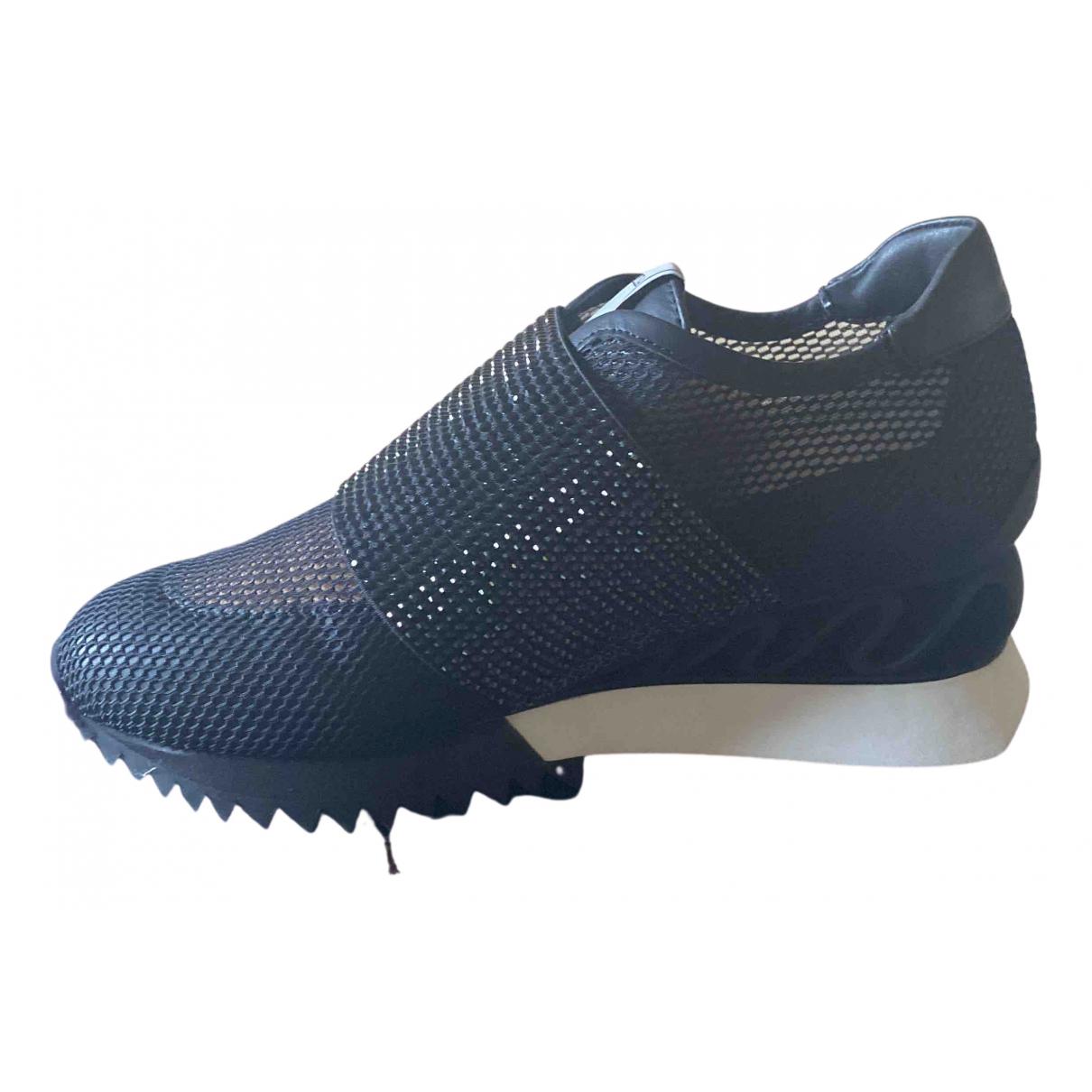 Le Silla \N Sneakers in  Schwarz Polyester