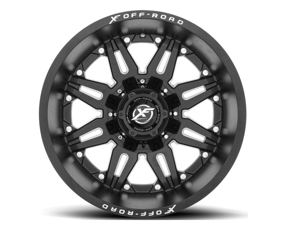 XF Off-Road XF-204 Wheel 20x10 6x135|6x139.7 -24mm Matte Black