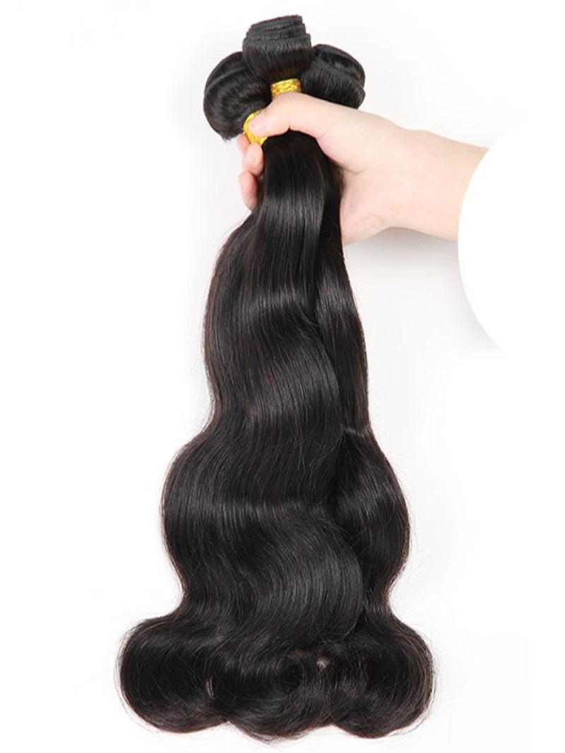 Ericdress Unprocessed Malaysian Human Hair Extensions Virgin Hair Body Wave Hair Bundles