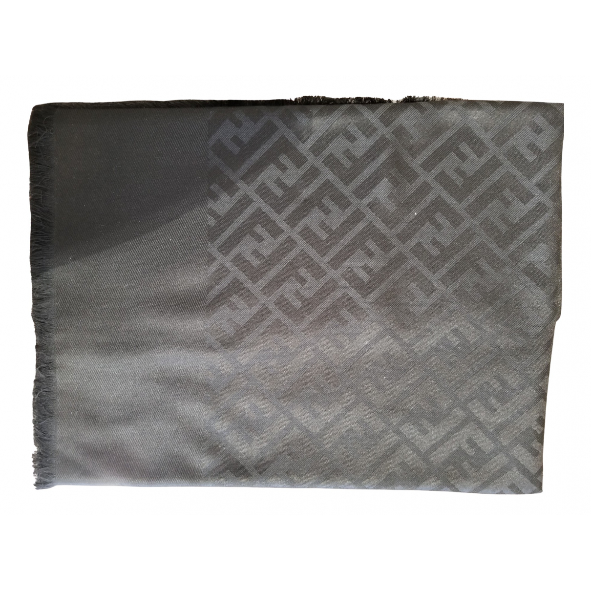 Fendi N Black Cashmere scarf for Women N