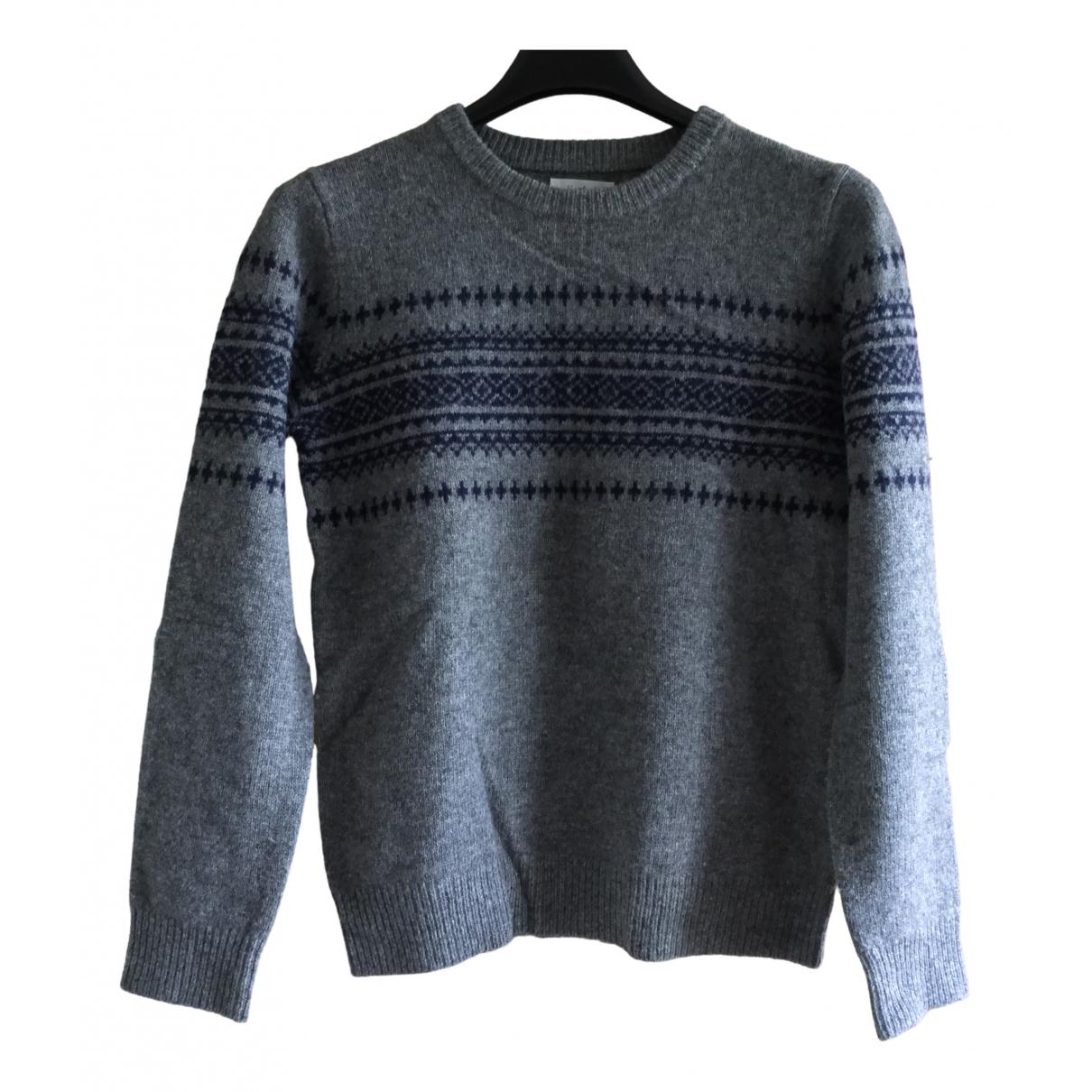 Hartford - Pull   pour enfant en laine - gris