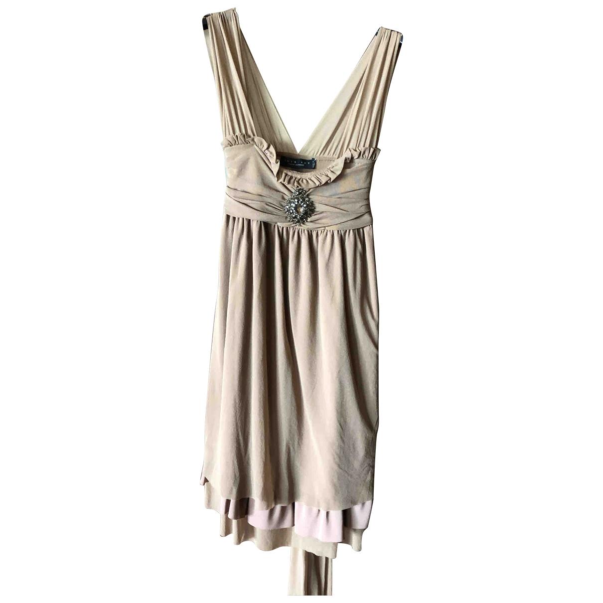 Twin Set \N Kleid in  Beige Polyester