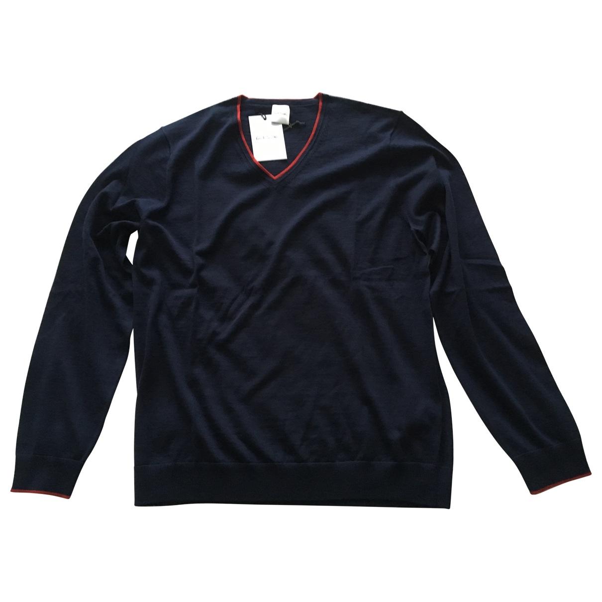 Paul Smith \N Blue Wool Knitwear & Sweatshirts for Men 40 UK - US