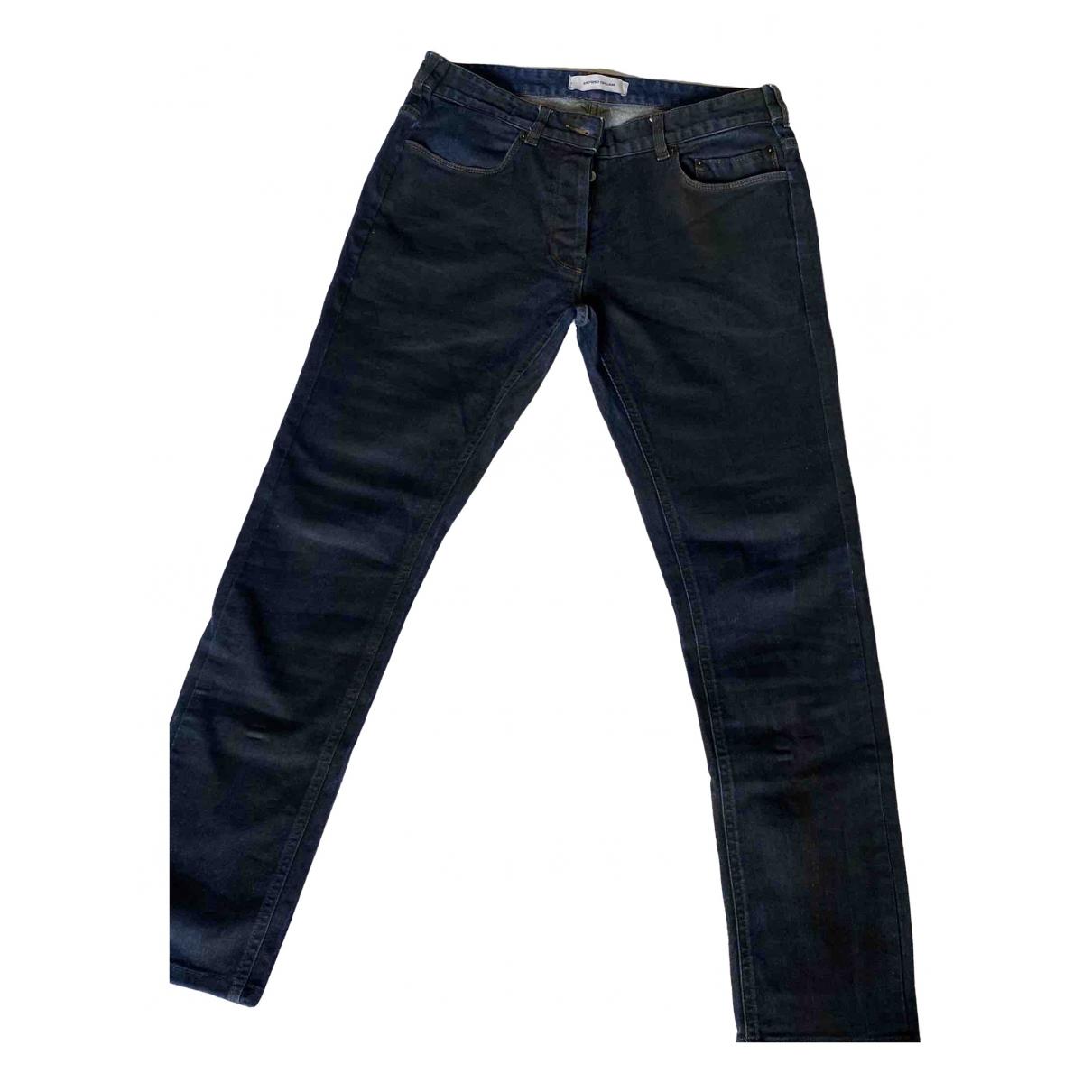 Mauro Grifoni \N Blue Cotton Jeans for Men 33 US