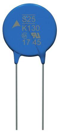 EPCOS , S25 Metal Oxide Varistor 3800pF 150A, Clamping 340V, Varistor 205V (200)