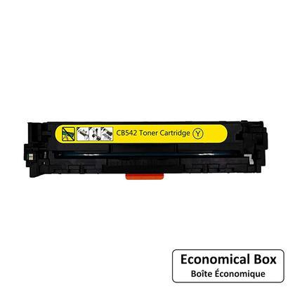 Compatible HP 125A CB542A cartouche de toner jaune - boite economique