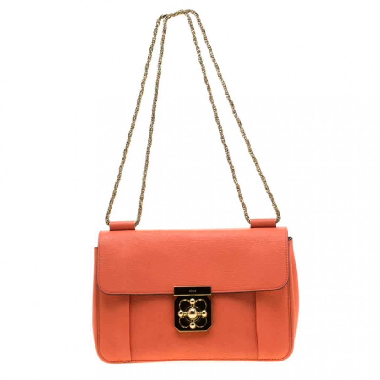 Chloé \N Orange Leather handbag for Women \N