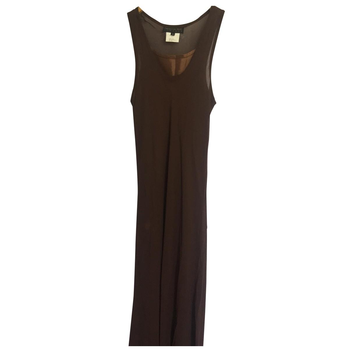 Patrizia Pepe - Robe   pour femme - marron
