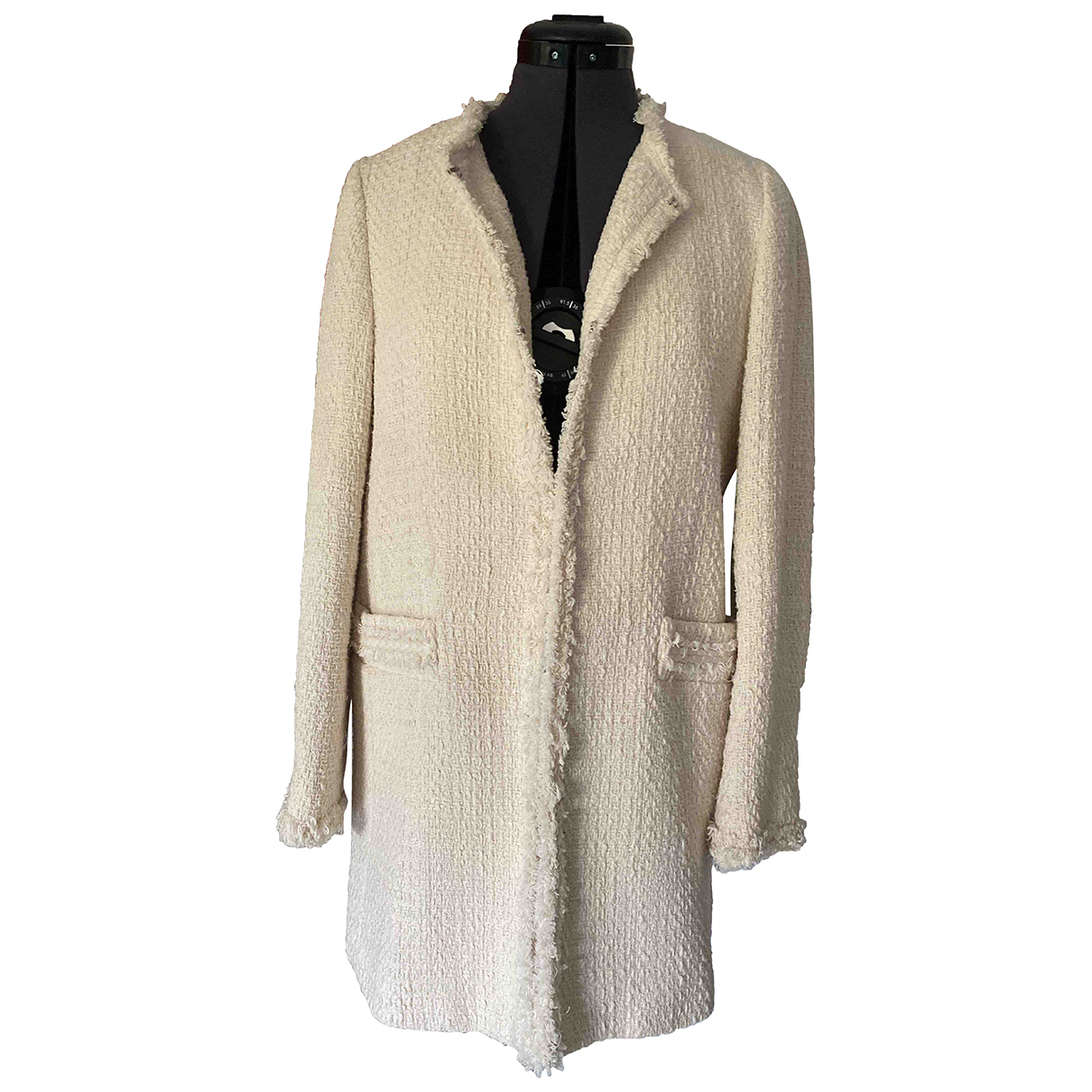 Zara N Ecru Cotton jacket for Women M International
