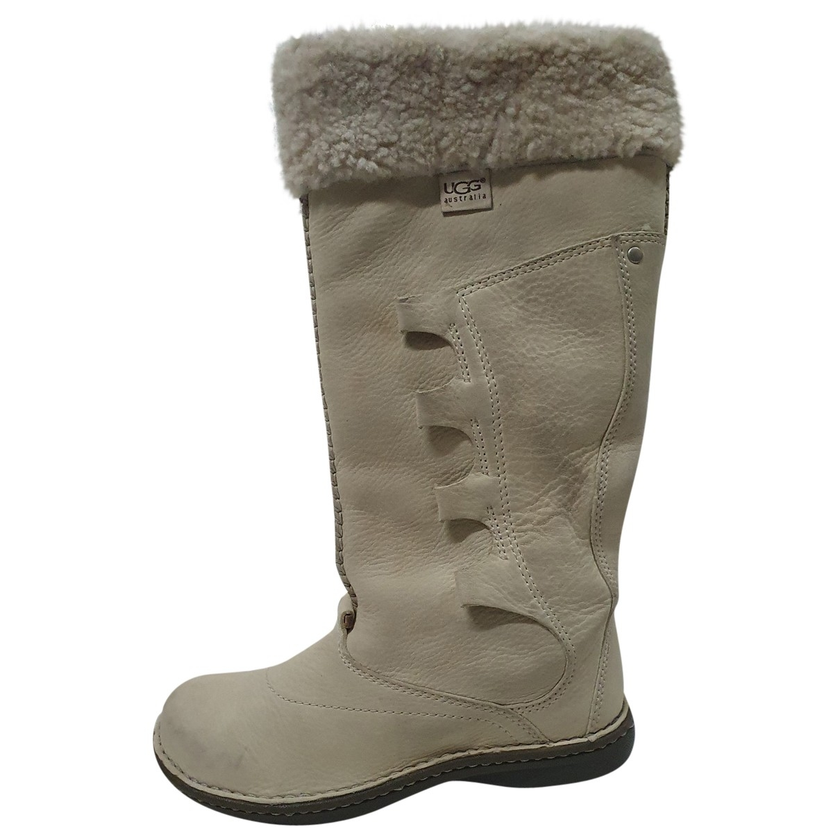Ugg \N Leather Boots for Women 36 EU