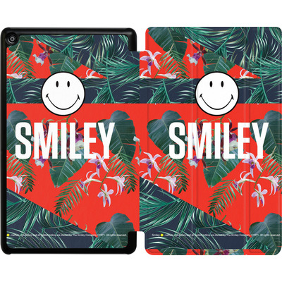 Amazon Fire HD 8 (2017) Tablet Smart Case - Tropical Groove von Smiley®